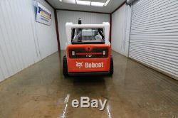 2015 Bobcat T750 Cab Skid Steer Track Loader, 81hp, Iso/h Pattern, 2 Speed