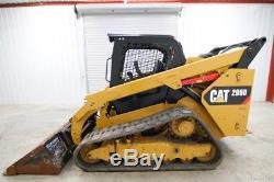 2015 Cat 299d Skid Steer Track Loader, 95 Hp, 2-speed, Warranty Till 3/03/2018