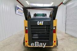 2015 Cat 299d2 Cab Skid Steer Track Loader, 95 Hp, 2-speed, Tipping Load 9200 Lb