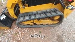 2015 Caterpillar 259D Track Skid Steer Loader Joystick Cab A/c Used