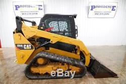 2015 Caterpillar 259d Cab Track Skid Steer Loader, Ac/heat, 73 HP