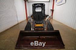 2015 John Deere 333d Cab Track Skid Steer Loader, 89 Hp, Ac/heat