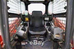 2015 Kubota Svl90-2hfc Cab Skid Steer Track Loader, High Flow, Warranty