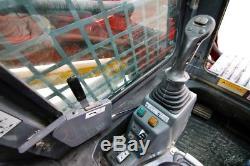 2015 Takeuchi Tl8 Cab Skid Steer Track Loader, 74 Hp, 2-speed, Ac/heat