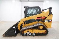 2016 Caterpillar 259d Cab Track Skid Steer Loader, High Flow