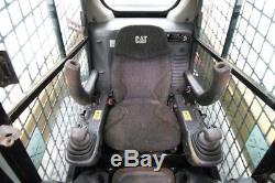 2016 Caterpillar 259d Cab Track Skid Steer Loader, High Flow, Warranty, 675 Hrs