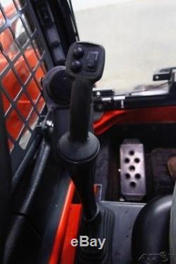 2016 Kubota Ssv65 Cab Skid Steer Wheel Loader, Ac/heat, 2-speed