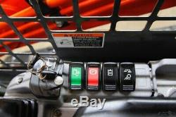 2016 Kubota Svl 75-2, Orops, 2-speed Skid Steer Track Loader, 74 HP
