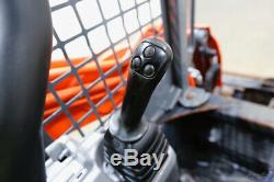 2016 Kubota Svl 75-2 Skid Steer Track Loader, Open Rops, 2 Speed, 74 HP
