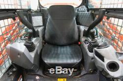 2016 Kubota Svl 95-2s Cab Skid Steer Track Loader, High Flow, Ac/heat