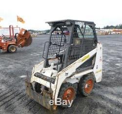 2017 Bobcat S70 Skid Steer Loader Kubota Diesel Mini Compact Tractor solid tires