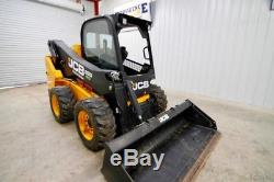 2017 Jcb Skid Steer Wheel Loader, Side Boom, Side Entry, 74 Hp, 2-speed, 198 Hrs