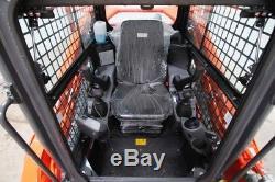 2017 Kubota Svl 95-2s Chf Cab Skid Steer Track Loader, Ac/heat
