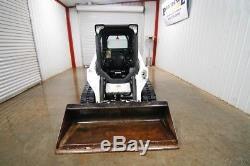 2018 Bobcat T590 Cab Skid Steer Loader, 61hp, Max Tipping Load 5,571 Lbs