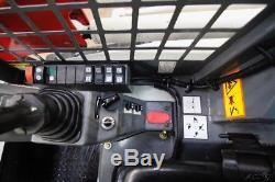 2018 Takeuchi Tl8 Skid Steer Track Loader, Open Rops, 74 Hp, 2-speed, Warranty