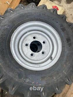 4x Plant Wheel & Tyres 7.00-12 5 stud Dumper Loader skidsteer tractor 4x4