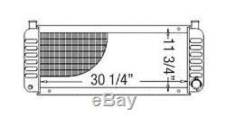 6648799 New Skid Steer Loader Radiator made to fit Bobcat 843 843B 843H