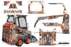 AMR Racing Bobcat Skidsteer Graphic Kit Mini Loader Decal Skid Steer Part DEAD O