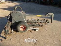 Aft Trencher With Fittings For Bobcat Skid Steer Loaders Or Similar