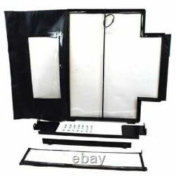All Weather Enclosure Replacement Door Skid Steer Loaders L160 L170 Compatible w