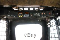 Asv Rc100 Cab Skid Steer Track Loader, 2 Speed, Ac/heat, High Flow