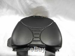BLACK BACK REPLACEMENT CUSHION FOR MILSCO V5300 SUSPENSION SEAT #LFd