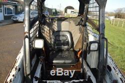 BOBCAT S100 y2010 SKID STEER COMPACT LOADER + FORKS Kubota Engine £7750+VAT