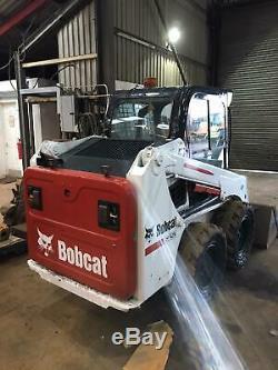 BOBCAT S450 skid steer/wheeled loader/komaktlader/ dérapag 2017 y. P £13950+vat