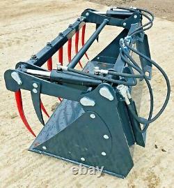 BOBCAT SKIDSTEER BUCKET GRAB, Belle, neuson, JCB robot, Kubota, tractor loader