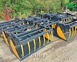 BOBCAT SKIDSTEER LOADER BUCKETS, Belle, neuson, JCB robot, Kubota, tractor loader