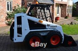 BOBCAT Skid Steer Loader 641 excavator digger dumper plant machine