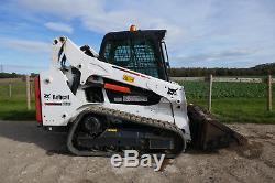 BOBCAT T590 y2015 COMPACT TRACK / SKID STEER LOADER with HIGH FLOW £29500+VAT