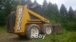 Benford S40 Bobcat Skid Steer Loader Bucket & Grab Inc