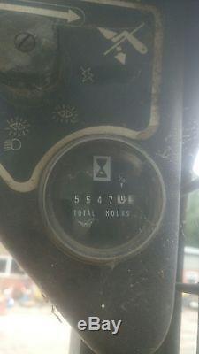 Benford s40 bobcat skid steer loader bucket & grab inc. Mustang 940 farm tracked