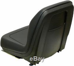 Black Seat Ford New Holland Skid Steer Fits Ls120, Ls125, Ls140, Ls150, Ls160 #qh