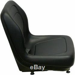 Black Seat fits Ford New Holland Skid Steer LS120 LS125 LS140 LS150 LS160