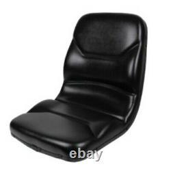 Black Seat for Case Backhoe Loader 580C 580D 580E 580L 580M Skid Steer Loaders