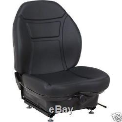 Black Suspension Seat For Cat, Caterpillar Skid Steer Loader 216 226 246 248 #qk