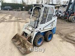 Bobcat 443 Skid Steer Loader Skidsteer Excavator Digger