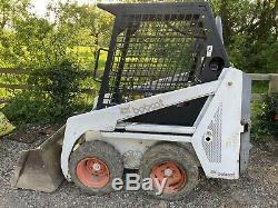 Bobcat 443 Skidsteer Loader Skid Steer No VAT Digger Stables