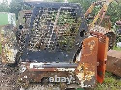 Bobcat 453 skidsteer loader digger dismantling! Fuel tank only