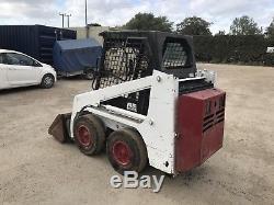 Bobcat 553 Skid Steer Loader Kubota Diesel Engine Digger Excavator