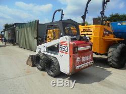Bobcat 553 loader/Skid steer loader/digger £8495 + VAT