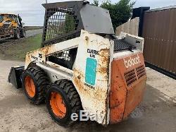 Bobcat 631 Diesel Skid Steer Loader Digger New Tyres And Bucket