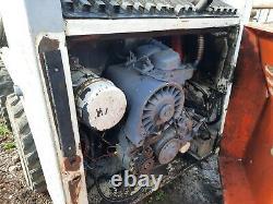 Bobcat 641 Skidsteer Wheel Loader with deutz 2 cylinder diesel engine & spares