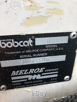 Bobcat 643 skid steer loader