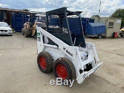 Bobcat 721 Diesel Skid Steer Loader Skidsteer