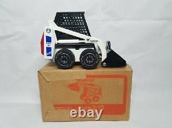 Bobcat 741 Clark Blue Skid Steer Loader Tonka 125 Scale Model Toy NIB