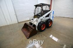 Bobcat 742 Wheeled Skid Steer Loader