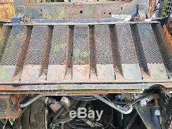 Bobcat 751 skidsteer loader dismantling for parts! Radiator grill only